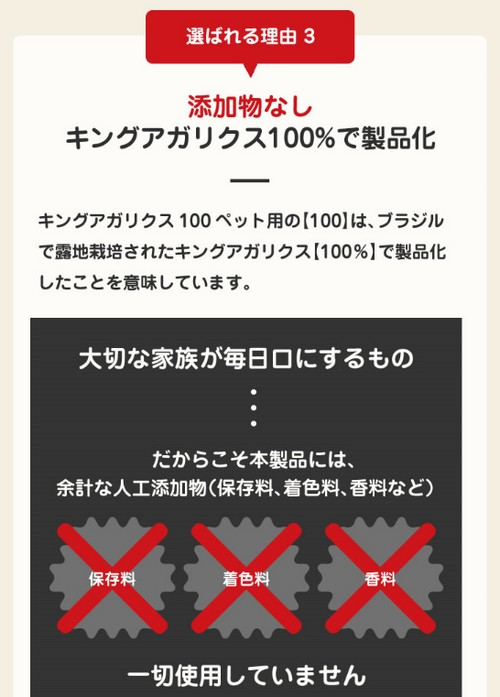 【キングアガリクス100】免疫力をサポート!